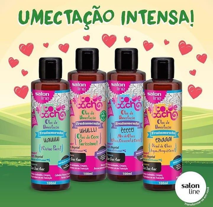 Resenha Óleo de Coco Puríssimo Tô de Cacho Salon Line